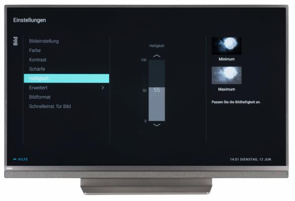 Philips 49PUS8503 Bildschirmmenü