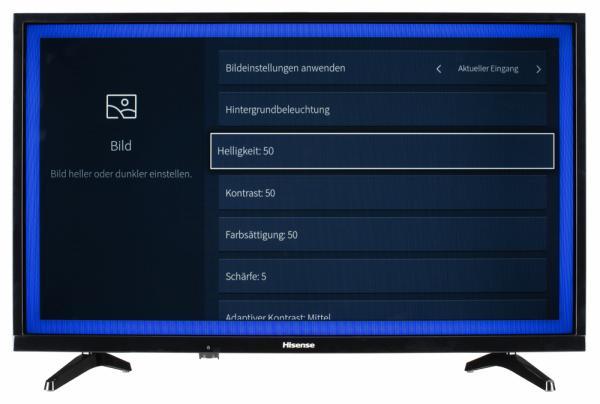 Hisense H32A5600 Bildschirmmenü