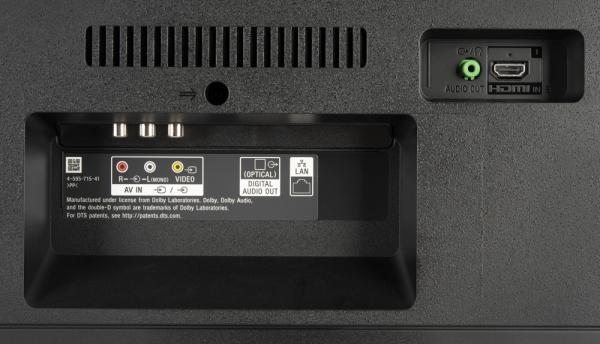 Sony KD-49XF7005 weitere Anschlüsse