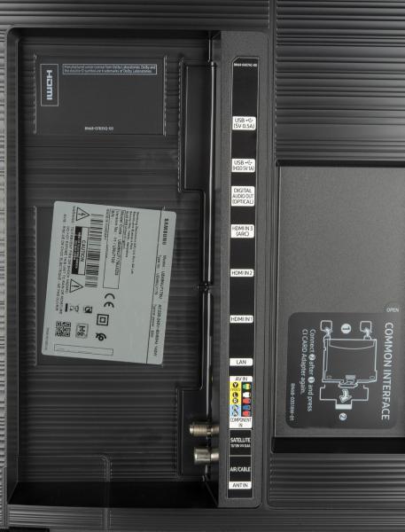 Samsung UE49NU7179 weitere Anschlüsse