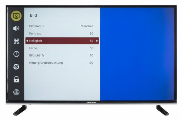 Grundig 43 GUB 8960 Bildschirmmenü