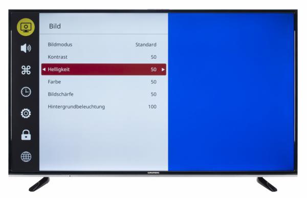 Grundig 55 GUB 8960 Bildschirmmenü