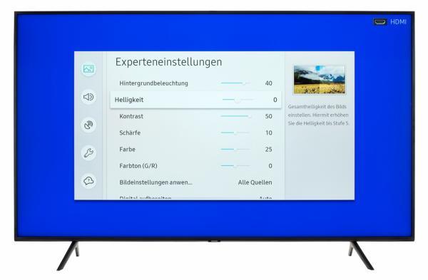 Samsung GQ65Q60R Bildschirmmenü