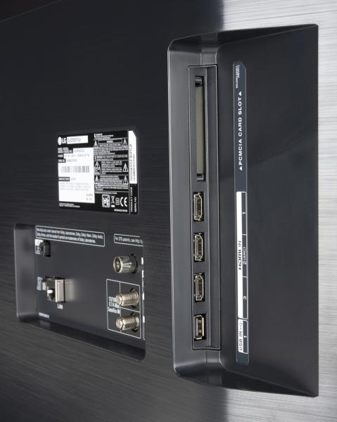 LG OLED55C97LA Anschlüsse
