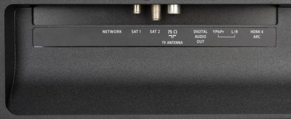 Philips 55OLED804 weitere Anschlüsse