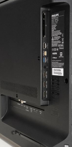 Philips 55OLED804 Anschlüsse