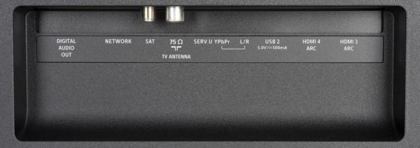 Philips 55PUS7304 weitere Anschlüsse