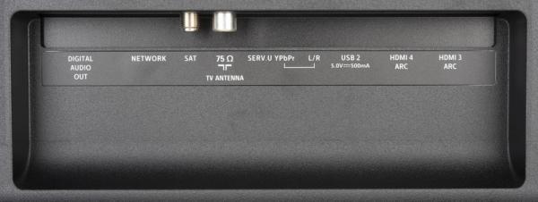 Philips 50PUS7334 weitere Anschlüsse