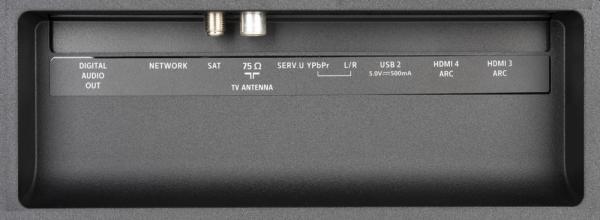 Philips 43PUS7334 weitere Anschlüsse