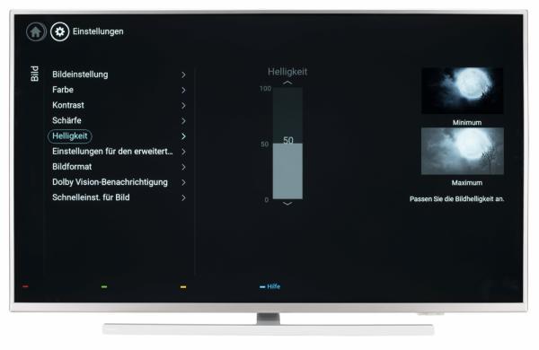 Philips 43PUS6804 Bildschirmmenü