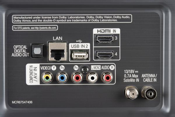 LG 49SM82007LA weitere Anschlüsse