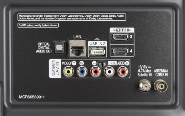 LG 43UM76007LB weitere Anschlüsse
