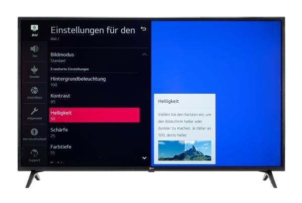 LG 55UN71006LB Bildschirmmenü