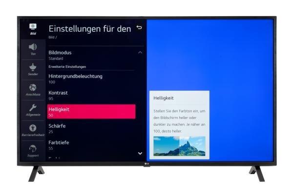 LG 55UN73006LA Bildschirmmenü