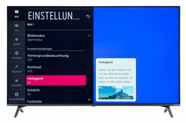 LG 55SM8050PLC Bildschirmmenü