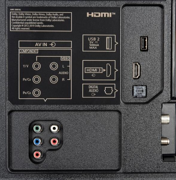 Panasonic TX-65HXW804 weitere Anschlüsse