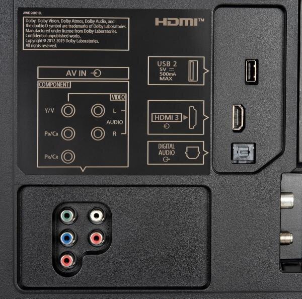 Panasonic TX-50HXW804 weitere Anschlüsse