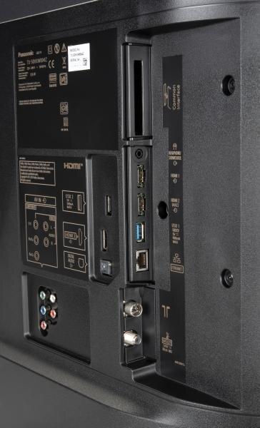 Panasonic TX-50HXW804 Anschlüsse