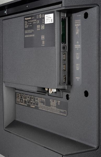 Panasonic TX-55HZW1004 Anschlüsse