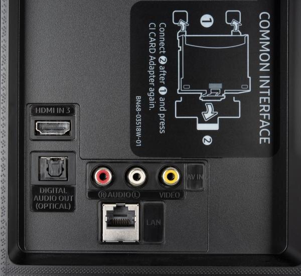 Samsung GU65TU8509 weitere Anschlüsse