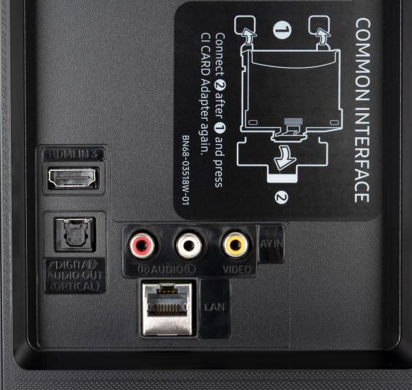 Samsung GU50TU8509 weitere Anschlüsse