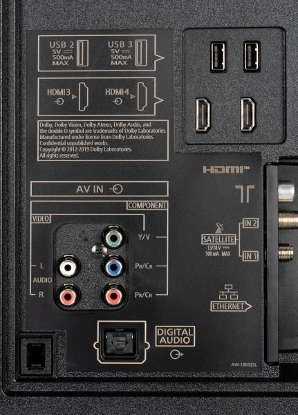 Panasonic TX-65HZW2004 weitere Anschlüsse
