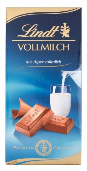Lindt Vollmilch aus Alpenvollmilch Hauptbild