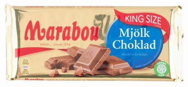 Marabou Mjölk Choklad King Size Hauptbild
