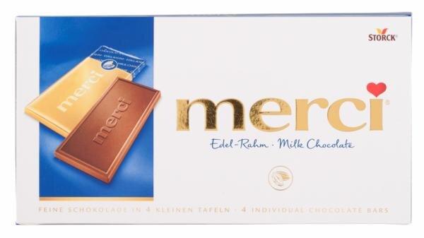 Merci Edel-Rahm Milk Chocolate Hauptbild