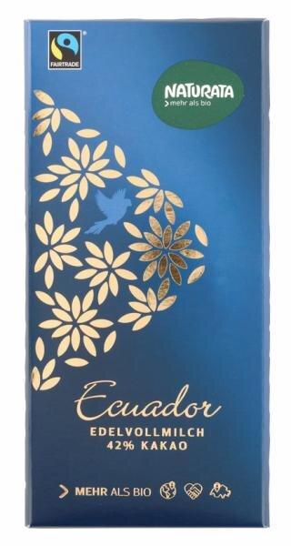 Naturata Ecuador Edelvollmilch, Bio Hauptbild