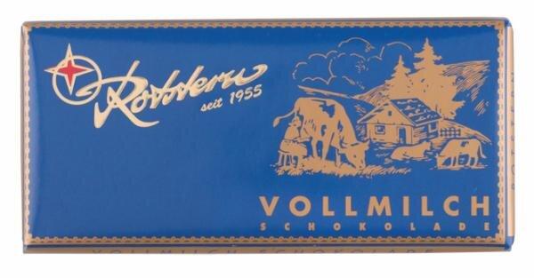 Rotstern Vollmilch Schokolade Hauptbild
