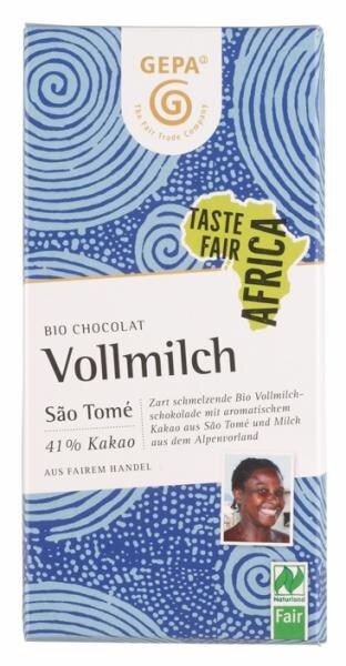 Gepa Bio Chocolat Vollmilch, Bio Hauptbild