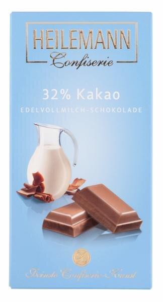 Heilemann Confiserie Edelvollmilch-Schokolade Hauptbild