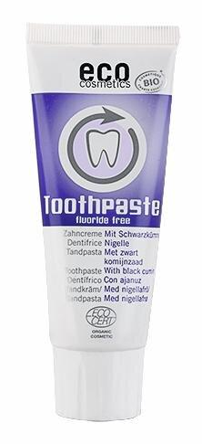 Eco Cosmetics Zahncreme mit Schwarzkümmel Hauptbild