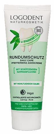 Logodent Rundumschutz Zahncreme mit Fluorid Hauptbild