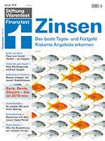Heft 01/2018 Riskante Zinsangebote: Hohe Zinsen, hohes Risiko