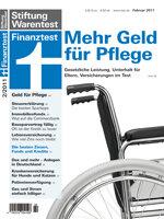 Heft 02/2011 Themenpaket Pflege: Mehr Geld für die Pflege