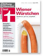 Heft 08/2009 Wiener Würstchen: Nur acht sind gut