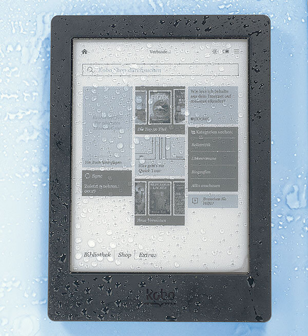 E-Book-Reader Test
