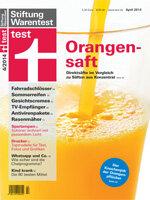 Heft 04/2014 Orangensaft: Säfte und Unternehmensverantwortung im Test