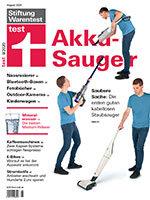 Heft 08/2020 Akku-Staubsauger: Ohne Furcht und Kabel