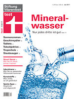 Heft 07/2017 Mineralwasser: Keine klare Sache