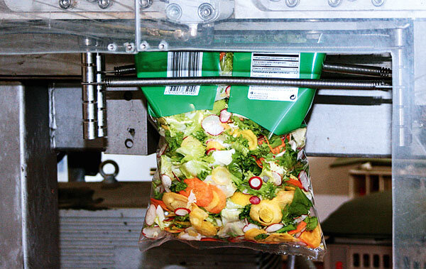 Abge­packte Salate Test