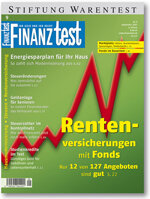 Heft 09/2007 Fondsgebundene Rentenversicherung: Rente mit viel Risiko
