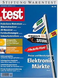 "Heft 10/2006 Preise und Beratung in Elektronikmärkten: Mit expert""gut""beraten"