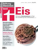 Heft 05/2015 Schokoladeneis im Test: Von sündhaft gut bis enttäuschend