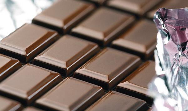 Dunkle Schokolade Test