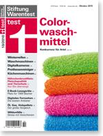 colorwaschmittel konkurrenz f r ariel test stiftung warentest. Black Bedroom Furniture Sets. Home Design Ideas