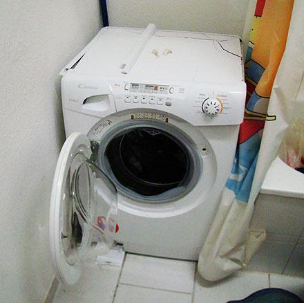waschmaschinen von candy hoover totalschaden im. Black Bedroom Furniture Sets. Home Design Ideas
