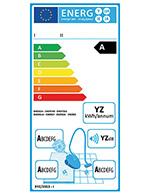 Energielabel für Staubsauger Meldung
